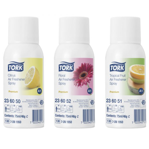 Mixed Pack Air Freshener Spray (Tork)