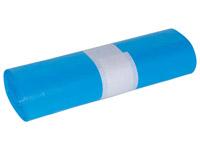 Afvalzak HDPE blauw 45170