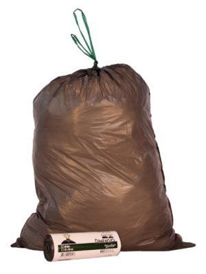 Afvalzak LDPE grijs 45104
