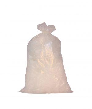 Afvalzakken HDPE wit 45160