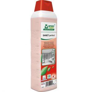 SANET perfect sanitairreiniger en ontkalker 1 x 1L