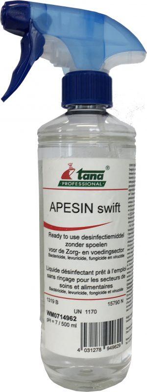 apesin desinfectie spray corona