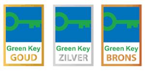 Green Key keurmerk goud zilver brons