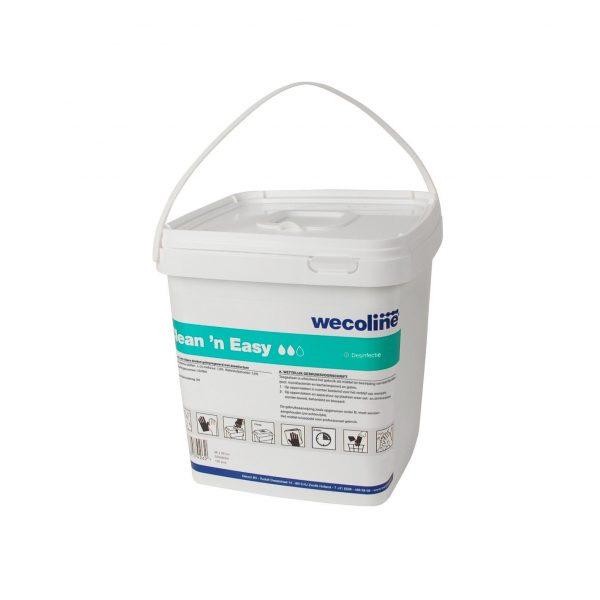 Clean 'n Easy disposable Desinfectie doeken groen 150 doeken