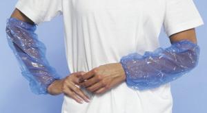 Mouwovertrekken PE Blauw pak 200 stuks