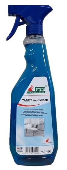 TANET multiclean allesreiniger 1x 750 mL