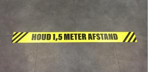 Vloersticker 1,5 meter afstand (groot)