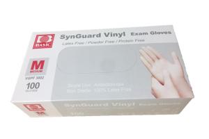 Handschoen Vinyl ONGEPOEDERD Wit maat L doos 100 stuks