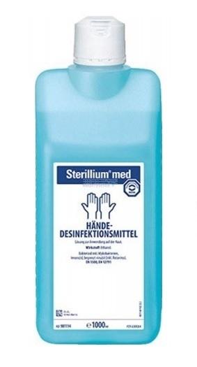 Sterillium med handdesinfectie geur-kleurstofvrij 1 L