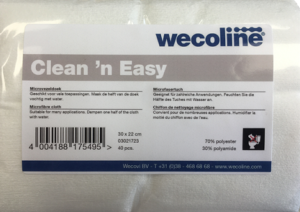 Wecoline Single Use Microvezeldoek gevouwen 22x30 40 stuks