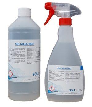 Alco Sept kant&klare alcoholreiniger 1x500ml spray +1L navul