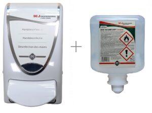 Deb Dispenser InstantFOAM 1000 + 1L Compl. Optidose vulling